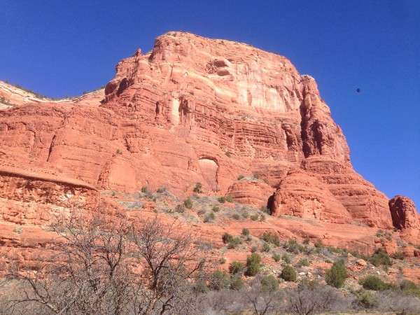 This was the view just about anywhere you looked in Sedona.