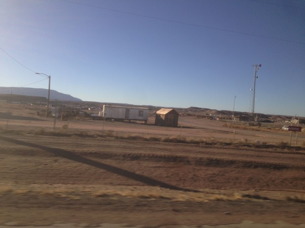 We drove back through Utah, alot through Indian Reservation.  It was disturbing how horrific the living conditions seemed.