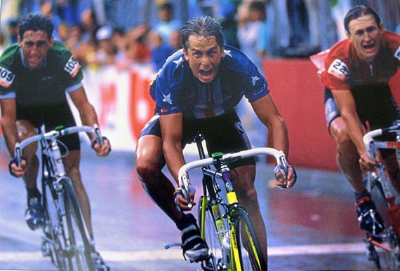And Greg winning the World Road Championships.