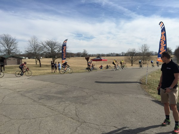 The Saturday criteriums have been getting a pretty good turnout.  They are points races, which is pretty hard for this time of the year.