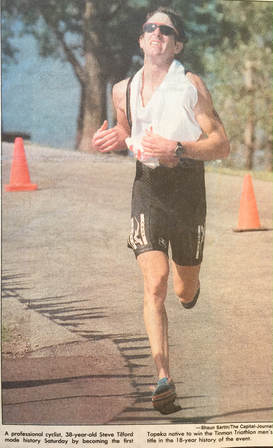 Obviously my running form is stellar, so at least I have that going for me.