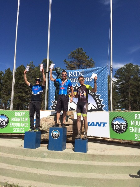 My friend, Vincent Davis, also won yesterday.  A 50 mile MTB race in Colorado.  It might be hard keeping up with him there with little oxygen.