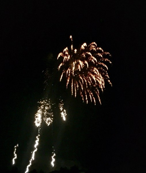 Nice firework display.