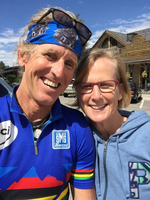 My friend, Laura Peycke was in town for the Copper Triangle ride.  I rode over to Frisco to catch up on Monday.