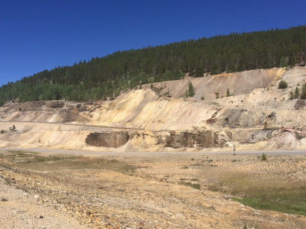 Old mine above Leadville.