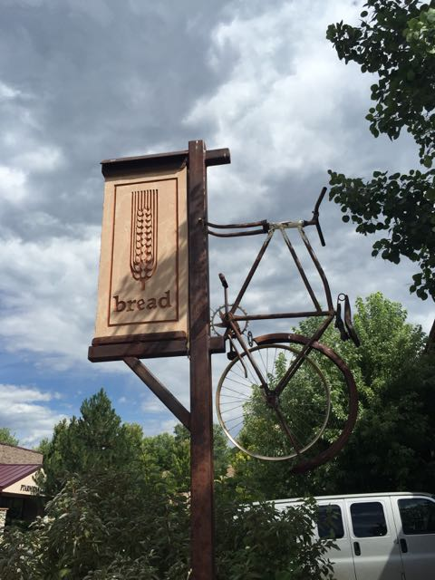 I stopped at Bread in Durango before I left.