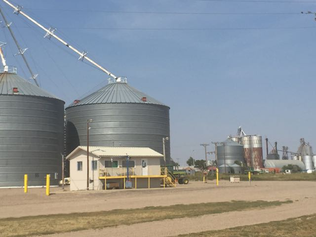 Some of the small towns in Western Kansas and Eastern Colorado are nearly only grain elevators.