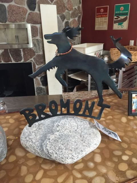 Sara Balbin, Gary Crandell's wife, made this in remembrance of Bromont.