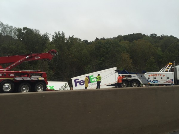 Lot and lots of trucks had issue yesterday in West Virginia.