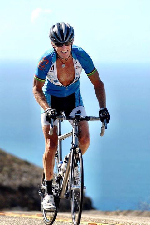 A photo Jimmy Mac took of me climbing Latigo I think.