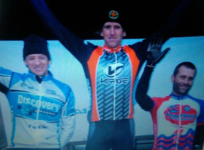 Jinglecross from 10 years ago.  Jason McCartney, me and Shadd Smith.  This was the 2nd year of the race.  Shadd won the first year.