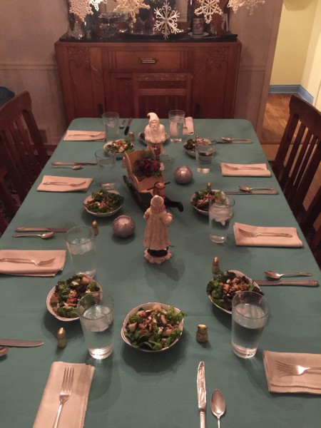 Dinner at Nan and Adam Gatewood's was super.  Nice informal New Year's Eve gathering.