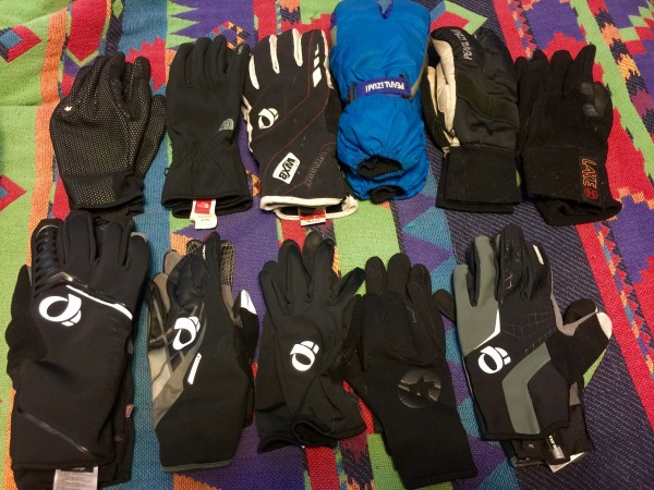 These are the gloves I'm bringing alone for the next couple weeks. Crazy.