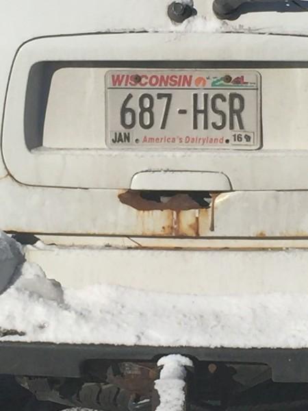 Normal WIsconsin truck.