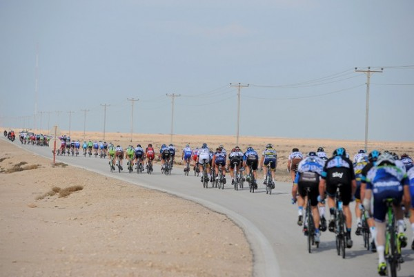 Historically, it has been pretty windy racing in the Middle East.