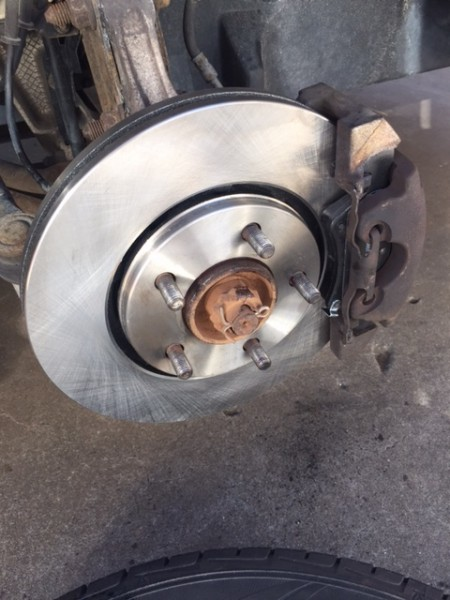 New brake rotors are satisfying.
