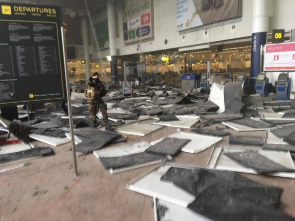 Brad Huff was sleeping right here just a few hours before the airport was attacked. I bet he has been thinking about this a lot.