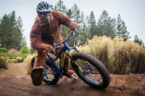 Thorfinn has moved onto Strava KOM's on fatbike descents now. You don't have to stay so lean for this.