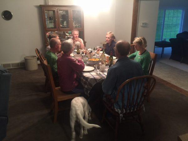 Dinner last night.