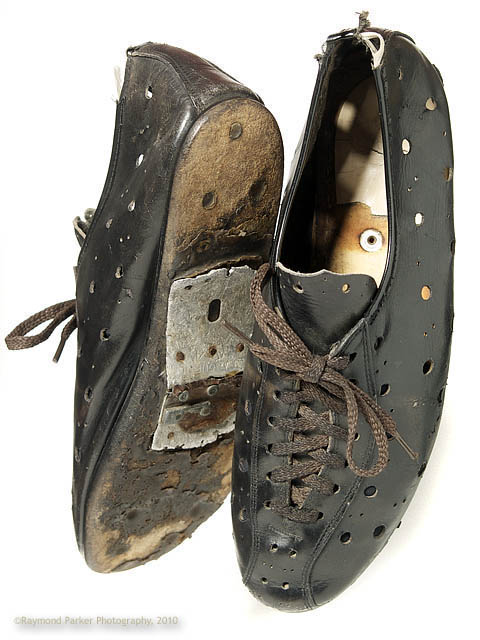 My first shoes were something like this. They probably looked like this too.
