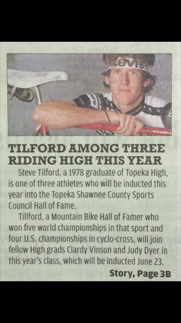 Newspaper clip about the Hall of Fame deal.