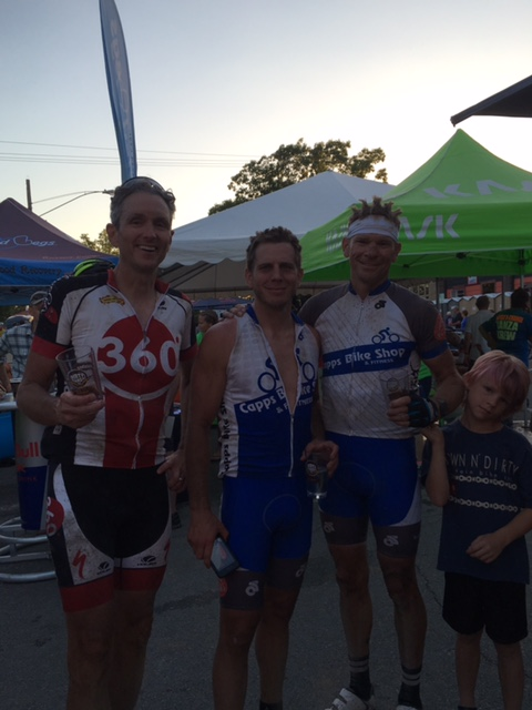 Keith, Eric and Roger at the finish of 200 miles of gravel. They rode together and all finished in the top 50 in a little over 14 hours. Pretty great considering a World Tour rider only beat them by a little over 2 hours.