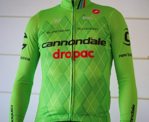 The new Cannondale jerseys.