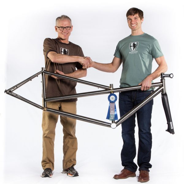 These two guys make the best titanium bicycle frames in the world.
