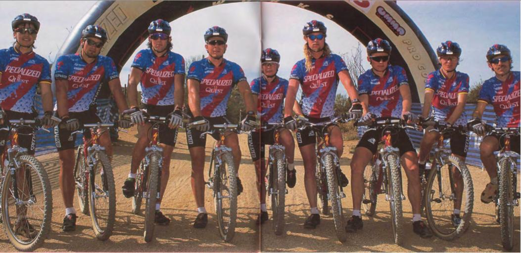 The Specialized team that year.