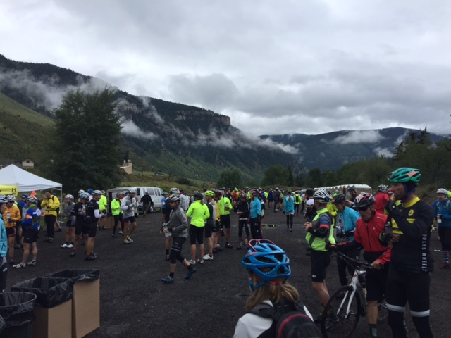 The rest stops were crowded yesterday.  We only stopped once.