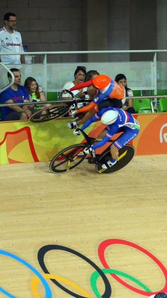 How about this save at the Olympic Games by Laurine Van Riessen, of the Netherlands. Pretty good stuff. Article here.