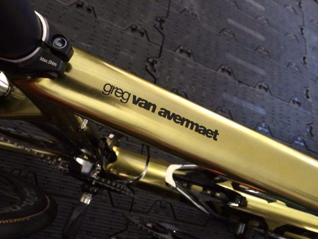 Olympic bike.