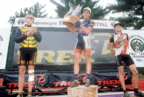 Dave, Marty and I at my first Chequamegon.