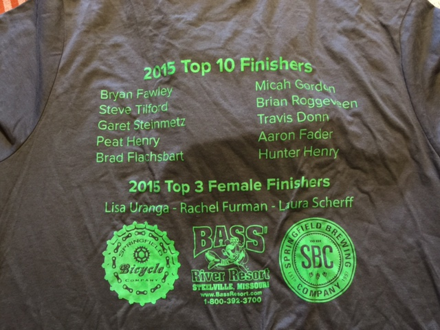 The guys at the BT Epic gave some of my local guys at t-shirt from last weekend.  I missed doing that race.  It is a super event.  Next year.