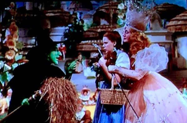 The Wizard of Oz was on last night. I love that movie.