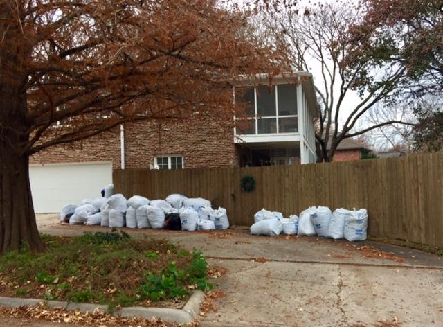 One of my neighbors driveway.